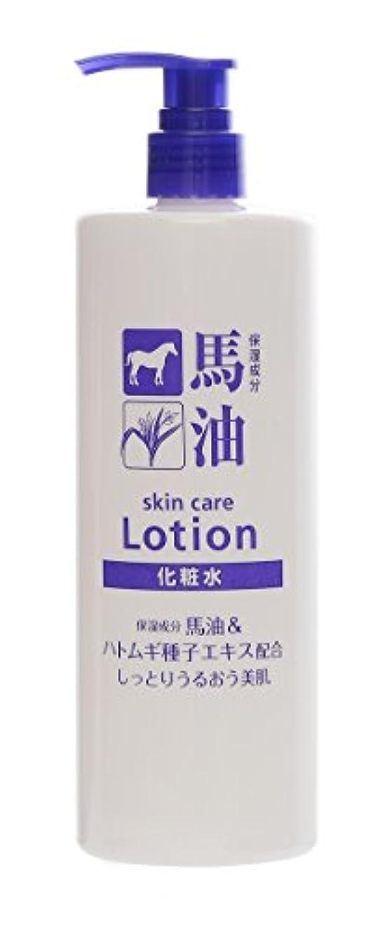 TKコーポレーション 馬油&ハトムギ種子エキス配合化粧水 500ml