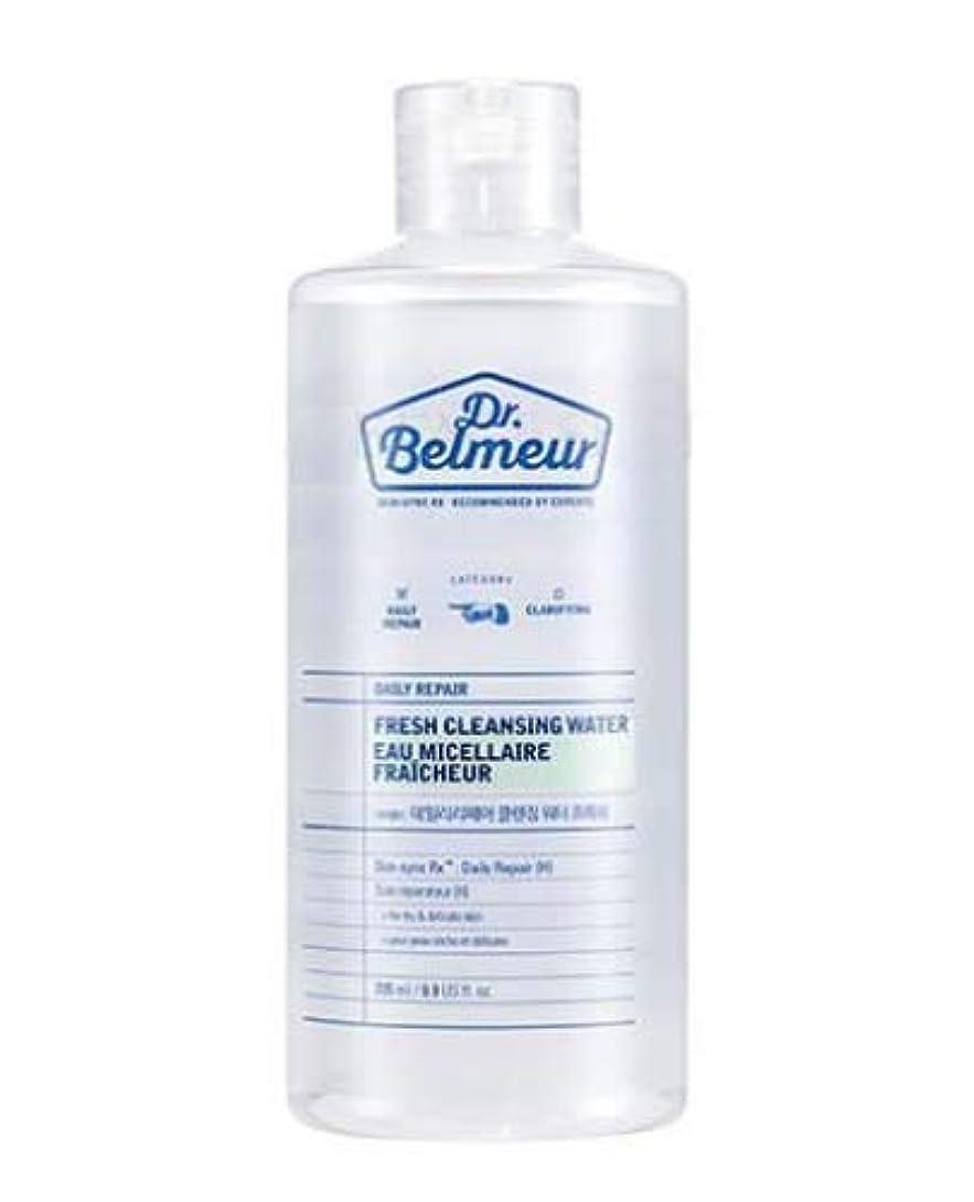 郊外利点マーク[ザ?フェイスショップ] THE FACE SHOP [ドクターベルムール デイリー リペア クレンジング ウォーター #フレッシュ  295ml] (Dr.Belmeur Daily Repair Fresh Cleaning...