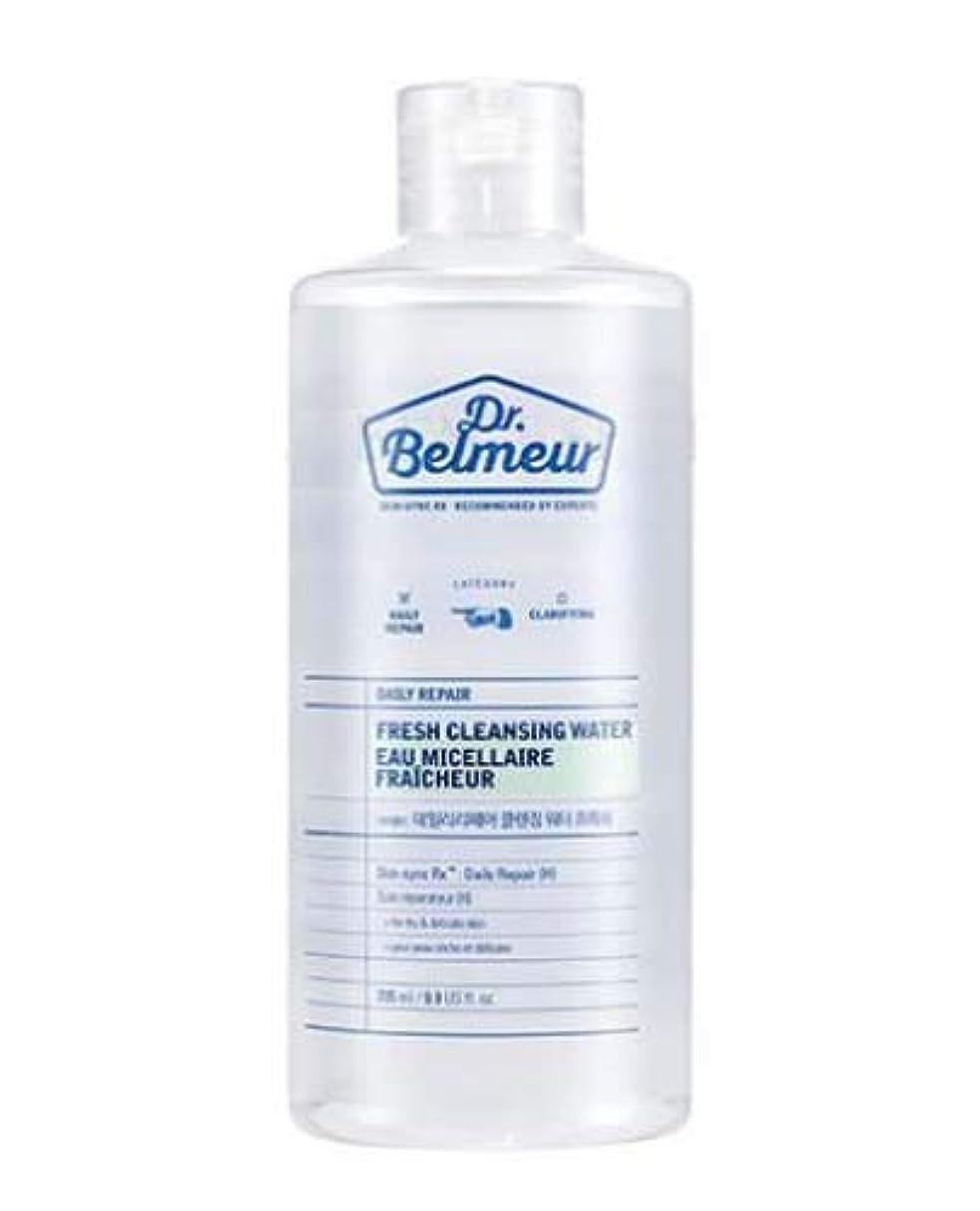 リレー反対した公平な[ザ?フェイスショップ] THE FACE SHOP [ドクターベルムール デイリー リペア クレンジング ウォーター #フレッシュ  295ml] (Dr.Belmeur Daily Repair Fresh Cleaning...