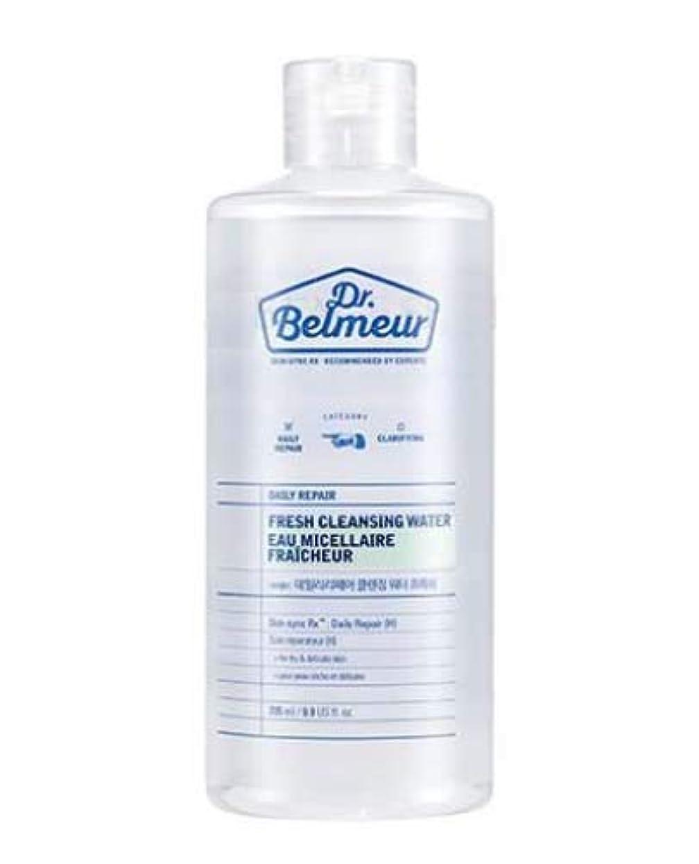 のれんグレートバリアリーフ流用する[ザ?フェイスショップ] THE FACE SHOP [ドクターベルムール デイリー リペア クレンジング ウォーター #フレッシュ  295ml] (Dr.Belmeur Daily Repair Fresh Cleaning...