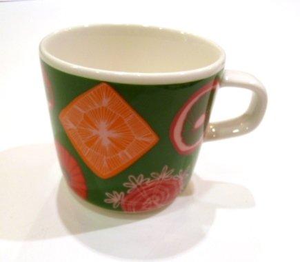 RoomClip商品情報 - マリメッコ(marimekko)/ RATI RITI RALLA コーヒーカップ(グリーン)