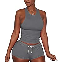 SHANLEE Women Sexy Tight Surfing Suit Sports 2 Piece Swimsuit Sets