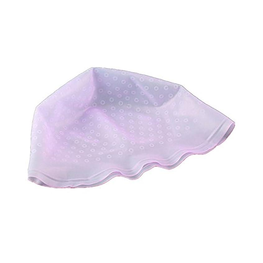 緩むスナックそれらAMAA 毛染め用 キャップ ヘアカラーキャップ 再利用可能 染め専用 ボンネット ヘアカラー (ピンク)