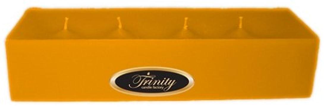 測定可能奇跡デッキTrinity Candle工場 – ジャスミン – Pillar Candle – 12 x 4 x 2 – ログ