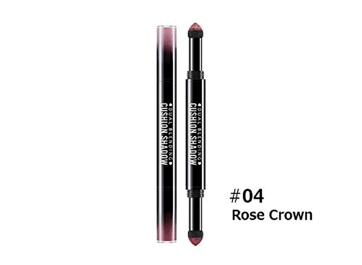 腐食するサドルランダムミシャ (Missha) デュアル ブレンディング クッション シャドウ(Dual Blending Cushion Shadow) #4.Rose Crown [並行輸入品]