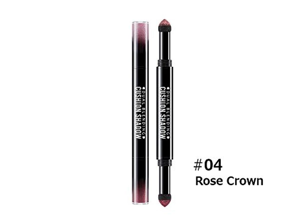 口頭消費ミシャ (Missha) デュアル ブレンディング クッション シャドウ(Dual Blending Cushion Shadow) #4.Rose Crown [並行輸入品]