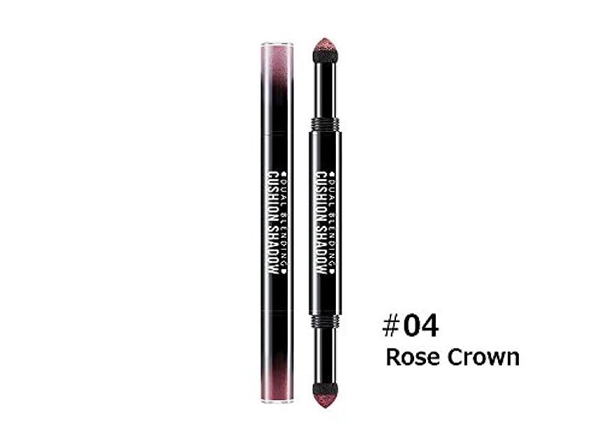 シルエット倍増保有者ミシャ (Missha) デュアル ブレンディング クッション シャドウ(Dual Blending Cushion Shadow) #4.Rose Crown [並行輸入品]