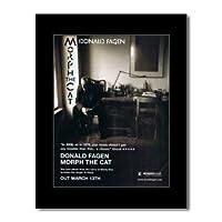 DONALD FAGEN - モーフザキャットミニポスター - 28.5 x 21 cm