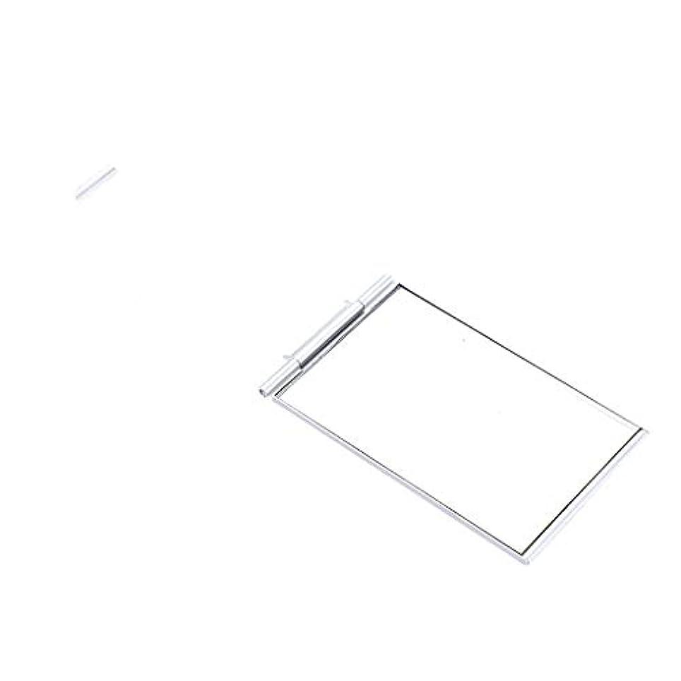 ファイバ朝サーバB Baosity ファッション ポケットサイズ 化粧ミラー メイクアップミラー スクエア 2サイズ選べ - 5