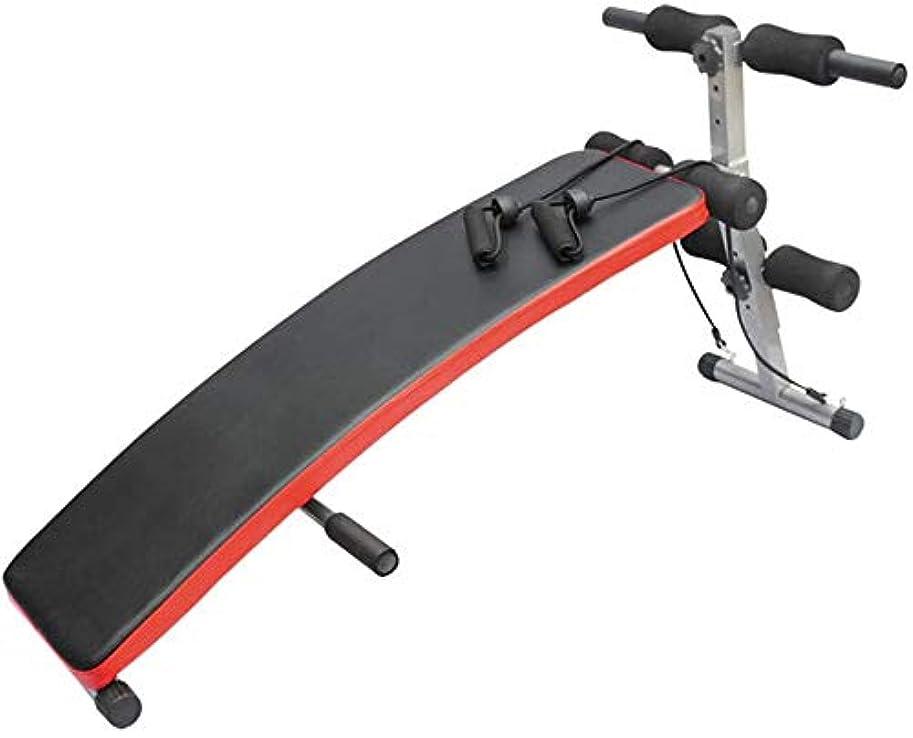 保証する活気づけるアブストラクトウェイトベンチ、折りたたみ可能な多目的重量ベンチ、インクライン衰退調整/最大支持力440ポンド、フルボディワークアウト/ブラック