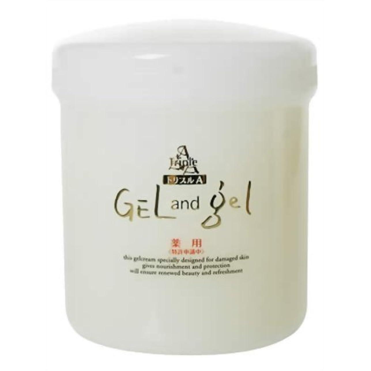 キノコチョップ薄暗い薬用トリプルA ゲル&ゲル クリーム 500g