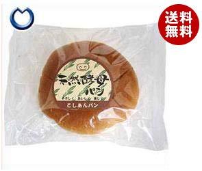 天然酵母パン こしあんパン 12個入×(2ケース)