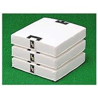 SSK(エスエスケイ) 野球 ベース 軟式・ソフトボール用塁ベース(3枚組) YM13