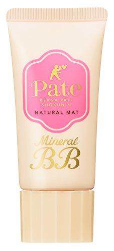 毛穴パテ職人ミネラルBBクリームナチュラルマット自然な肌色30g