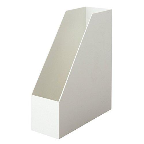 無印良品 ポリプロピレンスタンドファイルボックス・A4用・ホワイトグレー