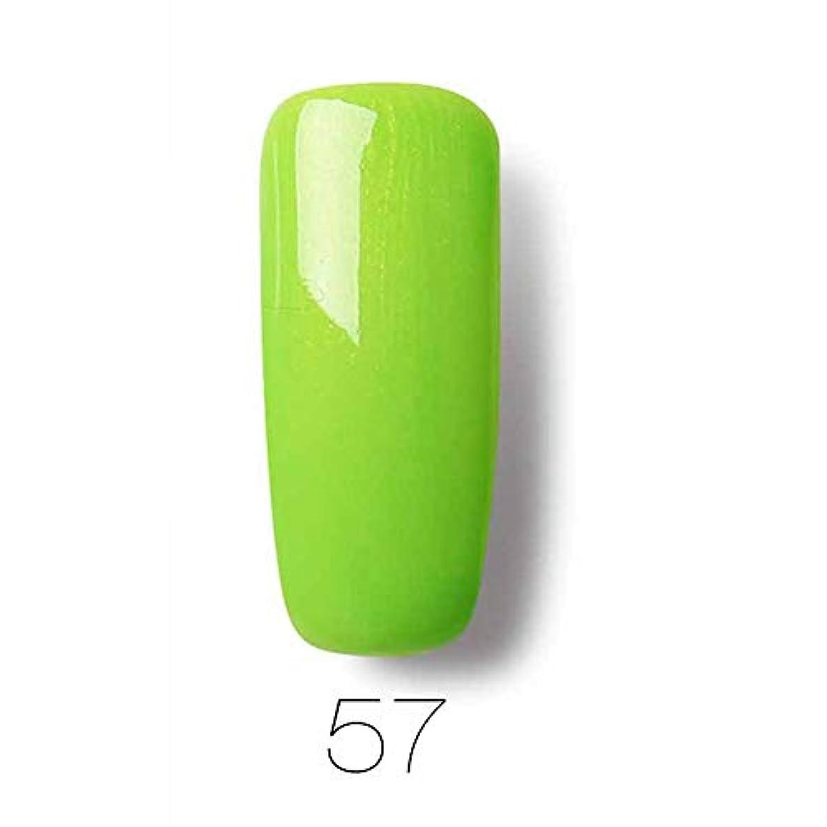提唱する艶舌3本セット ジェルネイルペン ベースコート トップコート ネイルアート専用ジェル 人気 5ml/本 (57)