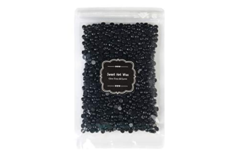 効能あるシャンパンごみKANWABI 黒炭脱毛粒ワックス (100g)