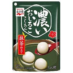 永谷園 濃いおしるこ こしあん 抹茶仕立て 140g×10袋入×(2ケース)