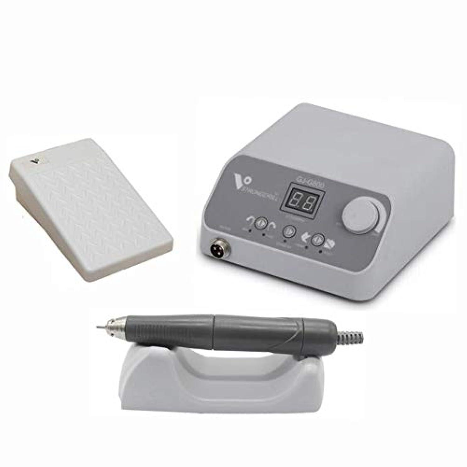 寝る耳マングル電動ネイルドリルマシン50000 RPMブラシレスモーター50W金属玉彫り偽歯磨き機電動ネイルファイル
