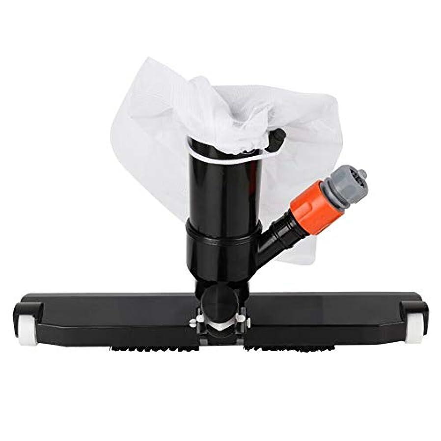 収束時系列雄弁なHappysource プールサクションヘッド掃除機ブラシスパ池汚れクリーナー用品