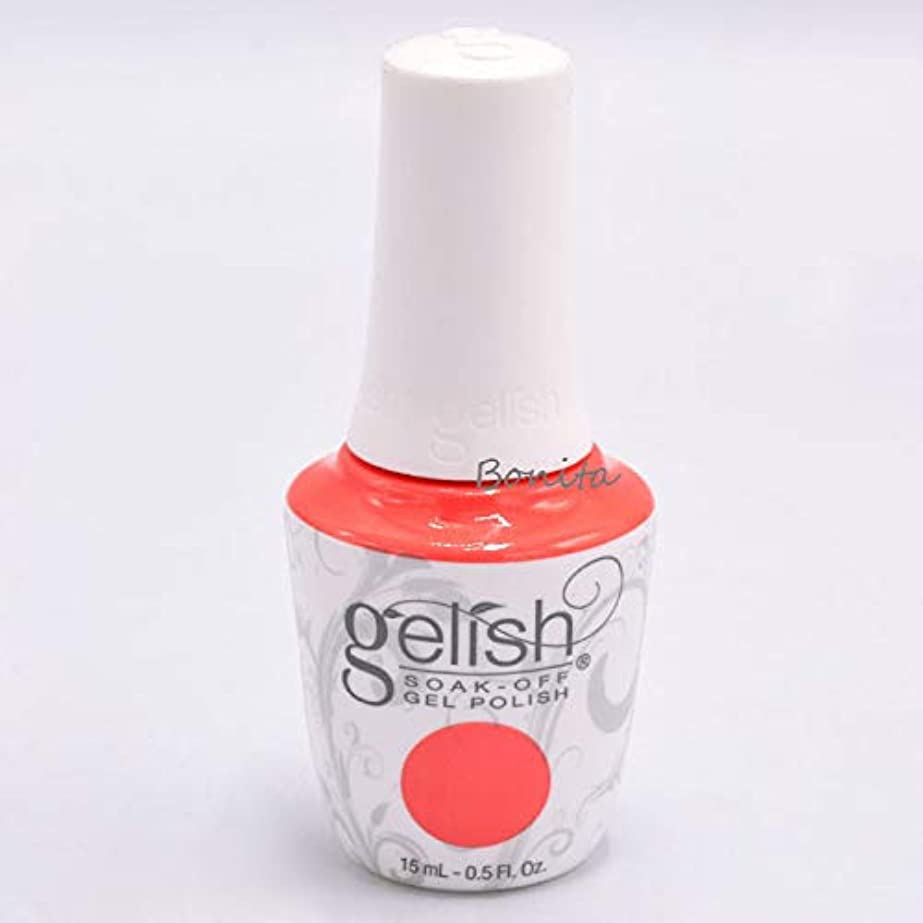 警官戦闘西部Gelish Soak-Off Gel - Sun Kissed Bliss - 15 ml / 0.5 oz