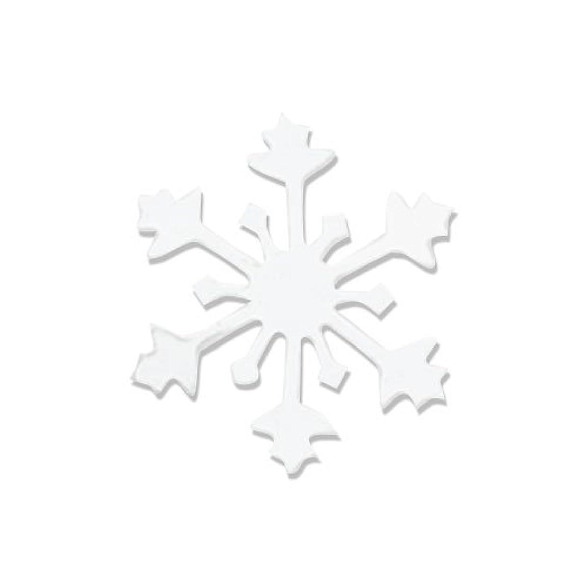 攻撃的優遇キッチンリトルプリティー ネイルアートパーツ スノークリスタル S ホワイト 10個