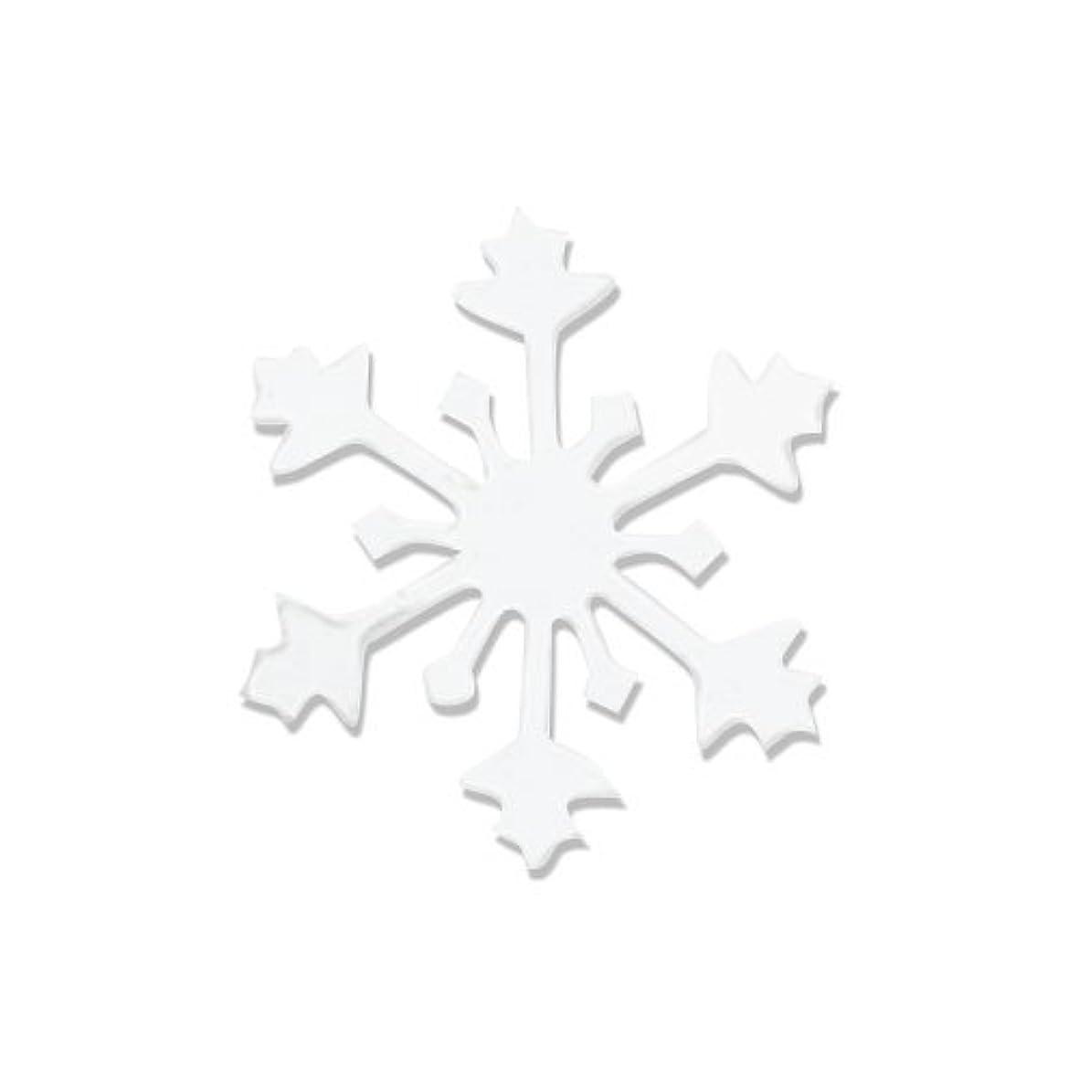 反乱広大なリーダーシップリトルプリティー ネイルアートパーツ スノークリスタル S ホワイト 10個