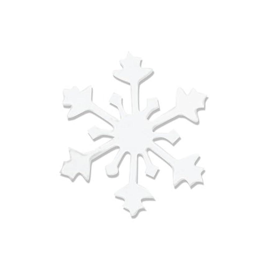 起こりやすい義務づける腐敗したリトルプリティー ネイルアートパーツ スノークリスタル S ホワイト 10個