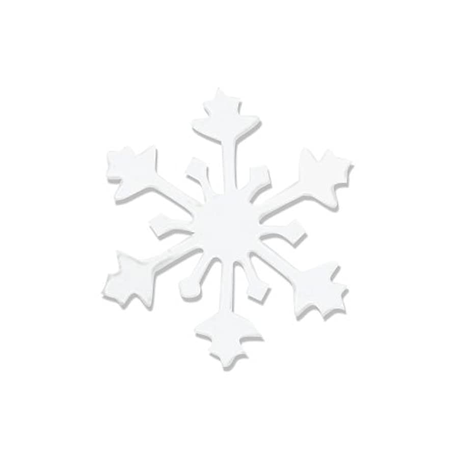 阻害する者便利リトルプリティー ネイルアートパーツ スノークリスタル S ホワイト 10個