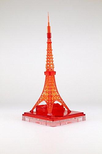 ジオクレイパー 東京タワー イルミネーションカラー クリアレッド
