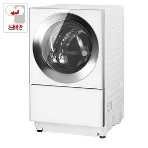 パナソニック 10.0kg ドラム式洗濯機【左開き】シルバーステンレスPanasonic Cuble(キューブル) NA-VG1200L-S