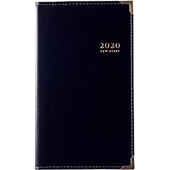 高橋 手帳 2020年 ウィークリー ニューダイアリー アルファ 1 黒 No.99 (2019年 12月始まり)