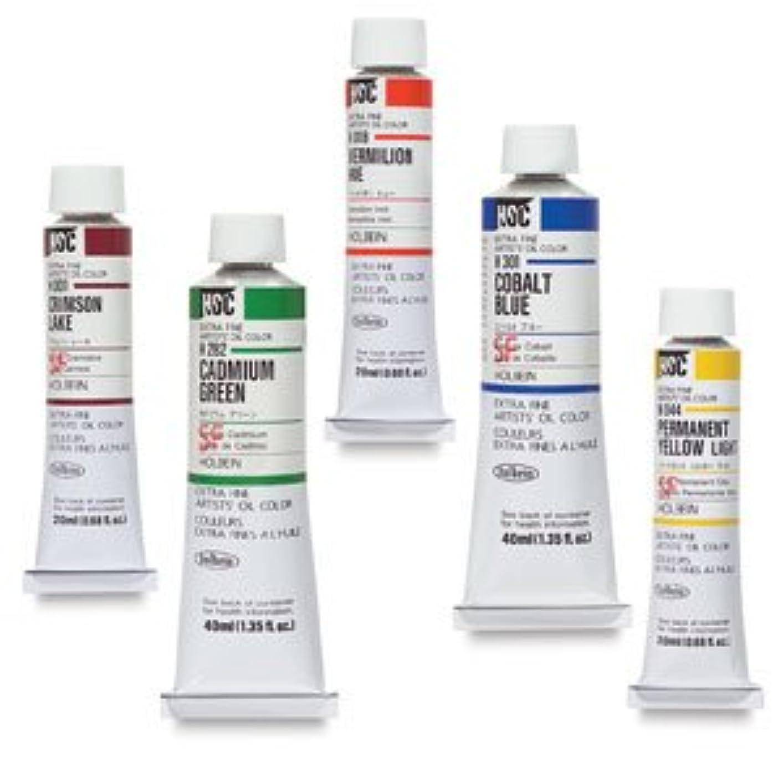 システム外観おしゃれなホルベイン 油絵具 パーマネントイエローライト H044 20ml(6号)