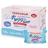 水99%おしりふき 100枚×24個パック(2400枚) 1ケース