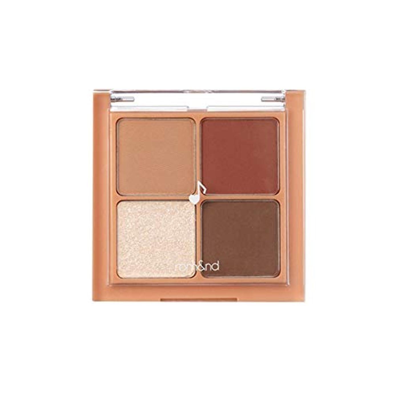 確認する顧問清めるrom&nd BETTER THAN EYES Eyeshadow Palette 4色のアイシャドウパレット # M1 DRY apple blossom(並行輸入品)