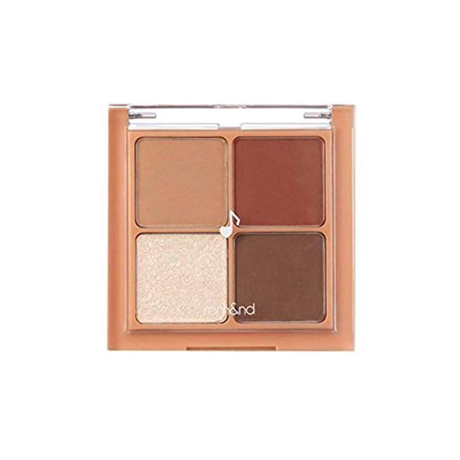 税金散文疾患rom&nd BETTER THAN EYES Eyeshadow Palette 4色のアイシャドウパレット # M1 DRY apple blossom(並行輸入品)