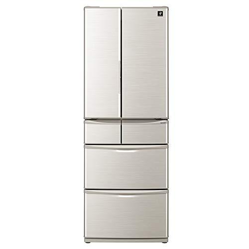 シャープ SHARP プラズマクラスター冷蔵庫 455L(幅65cm) センターピラーレス フレンチドア(観音開き) SJ-F462D-S SJ-F462D-S