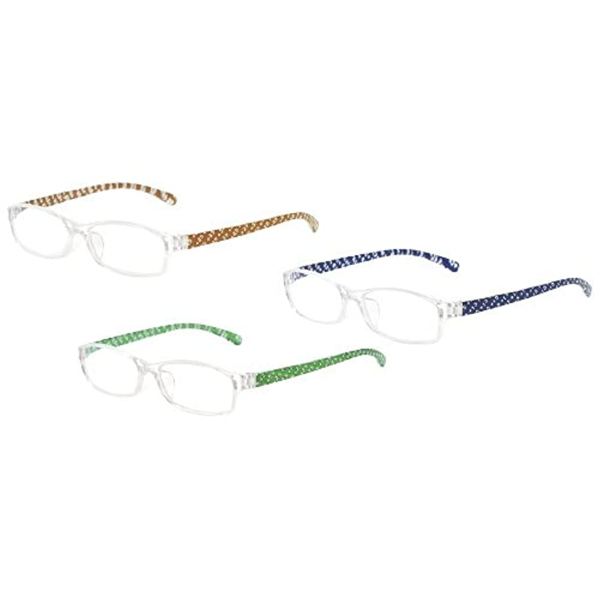 窓口設置用老眼鏡強度3.5 OM-800-BR-35(?????) ???????????????????(24-4625-00)【ミタス】[1個単位]
