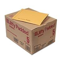 Jiffy Padded Mailer, Side Seam, #5, 10 1/2 x 16, Golden Brown, 100/Carton (並行輸入品)