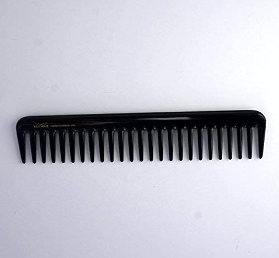 インド幻想的後方7in, Hard Rubber, Wide Tooth Short Styling Comb [並行輸入品]