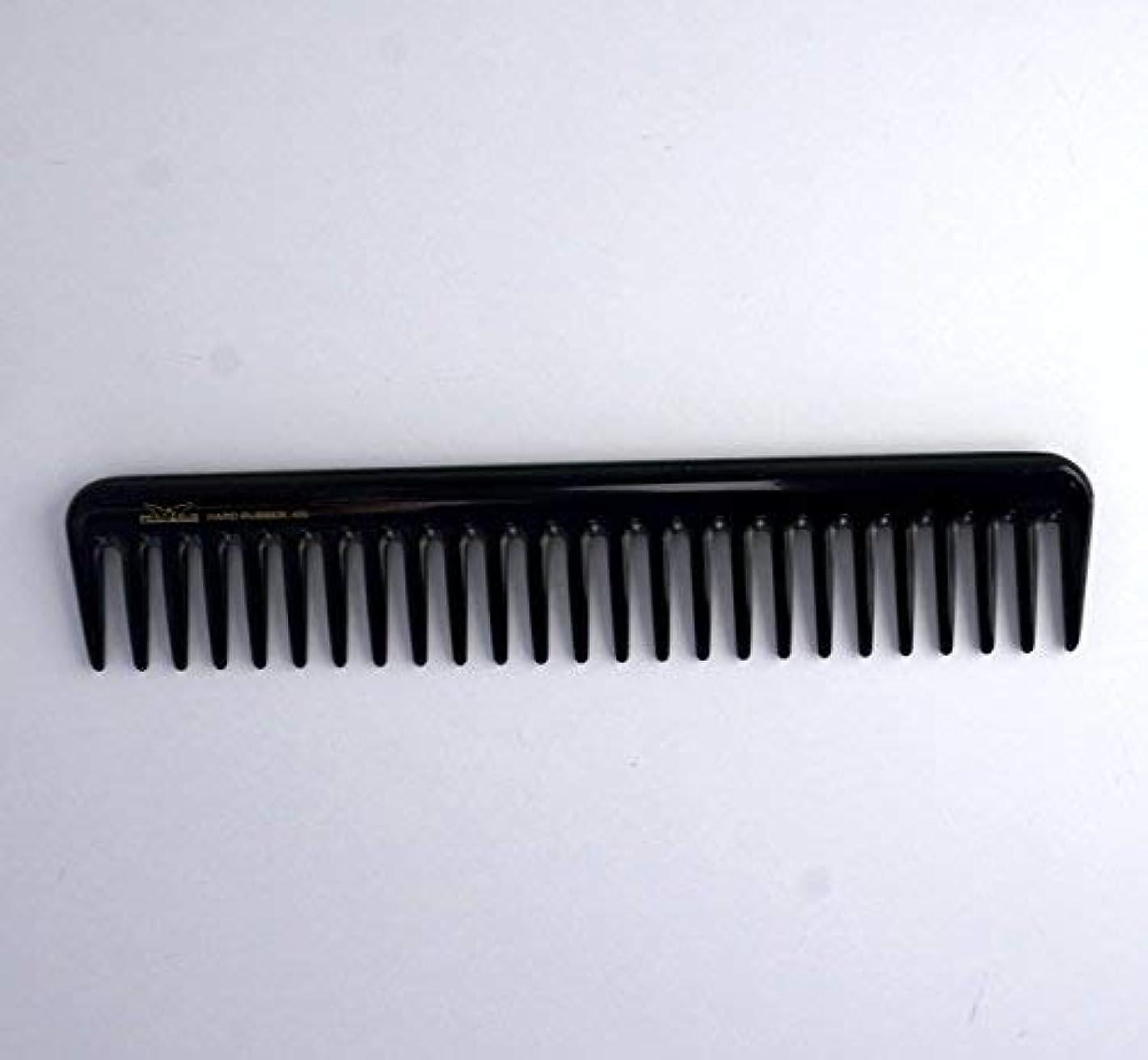 番号公演公使館7in, Hard Rubber, Wide Tooth Short Styling Comb [並行輸入品]