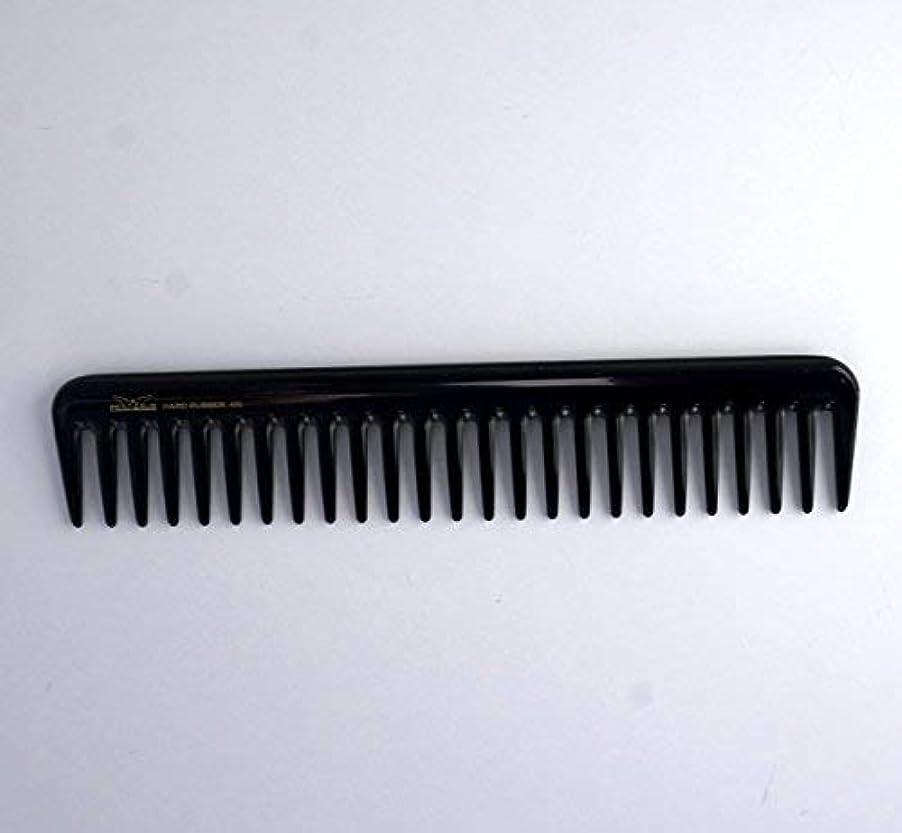 綺麗な不利ジャム7in, Hard Rubber, Wide Tooth Short Styling Comb [並行輸入品]