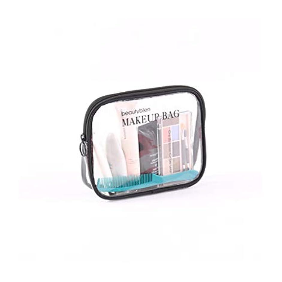 抽選道路アイデアZhiop メンズ レディース 防水 コンパクト 収納 メイクブラシポーチ化粧品 透明メッシュ温泉 ビーチサイド旅行 化粧ポーチ メイクポーチ 大容量