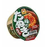 東洋水産 緑のたぬき ミニ (12個入り)