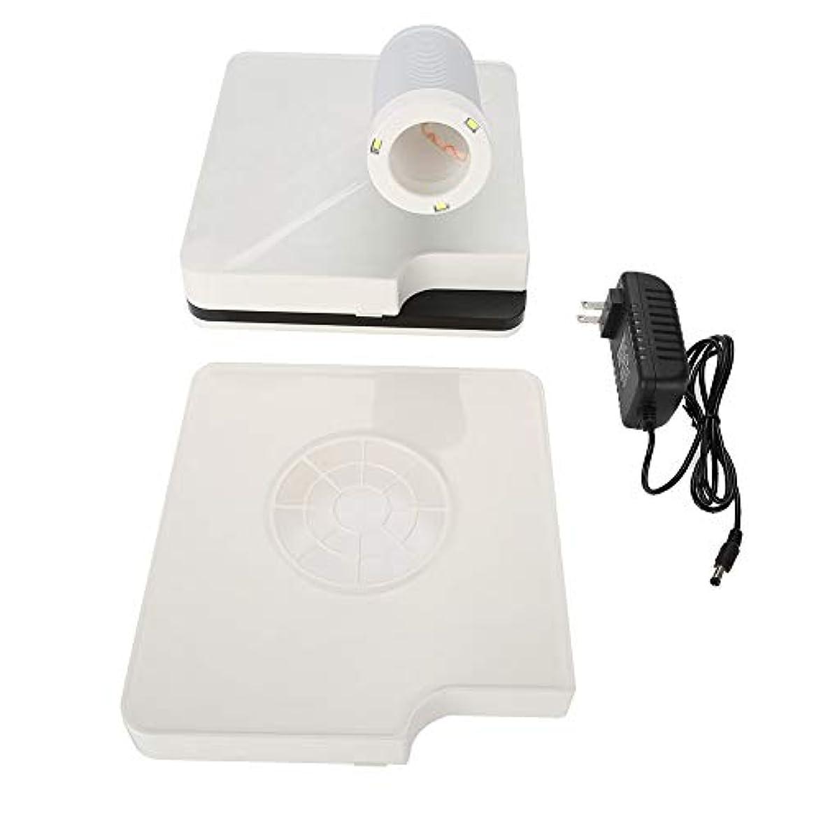 衣服リング積極的にネイルファン ネイルダス 集塵機 ネイル機器 ネイルケア用 (USプラグ) (2in1)