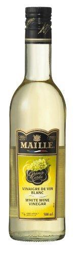 白ワインビネガー 醸造酢 500ml /マイユ(12本)