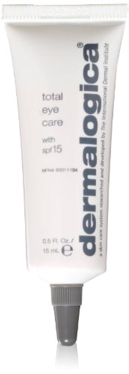 飼い慣らすジョージエリオット不潔Dermalogica Total Eye Care Cream 15 ml