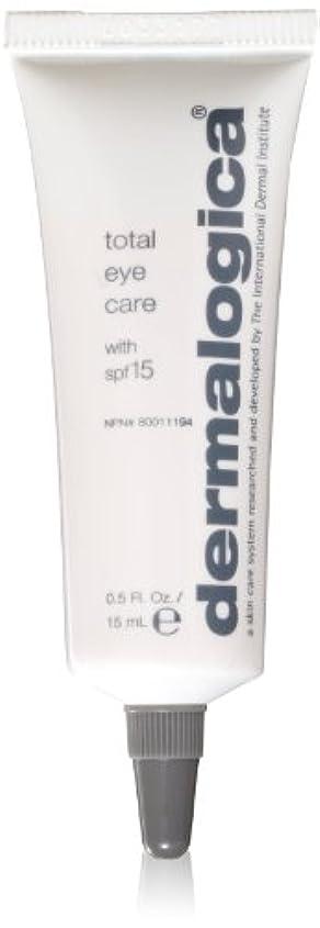 観察地中海不名誉なDermalogica Total Eye Care Cream 15 ml