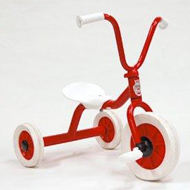 ペリカン三輪車Vハンドル赤 (ボーネルンド 三輪車/デンマーク・ウィンザー社)