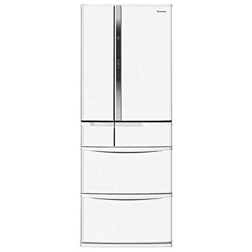 パナソニック 451L 6ドア冷蔵庫(ハーモニーホワイト)Panasonic エコナビ NR-FVF453-W